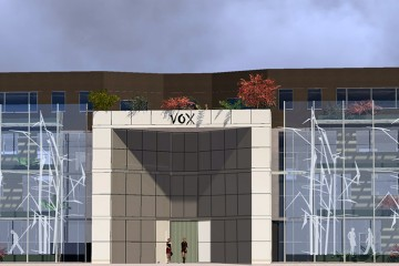 Le Vox facade rue